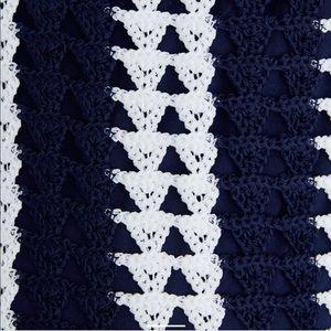 Zara Dresses - AMALFI DREAM DRESS! Zara Striped Crochet Dress